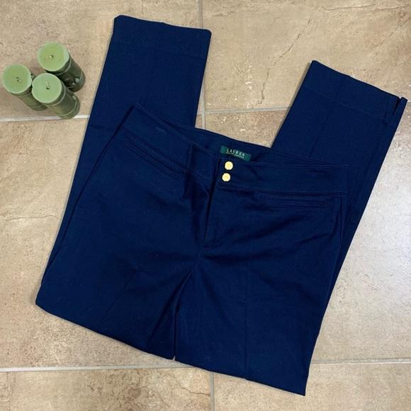 Lauren Ralph Lauren Navy Blue Slacks